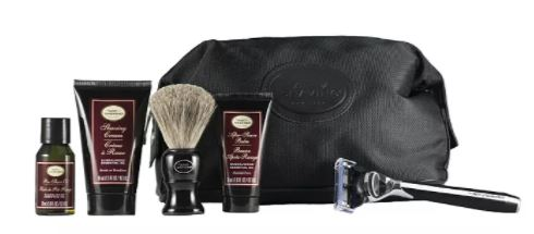 The Art Of Shaving Sandalwood Travel Kit with Morris Park Razor