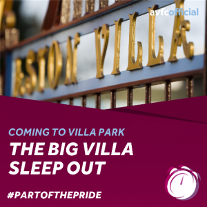 AVFC Foundation Supporting Homeless People