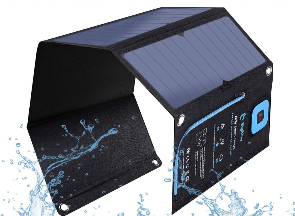 prime pick bigblue solar charger