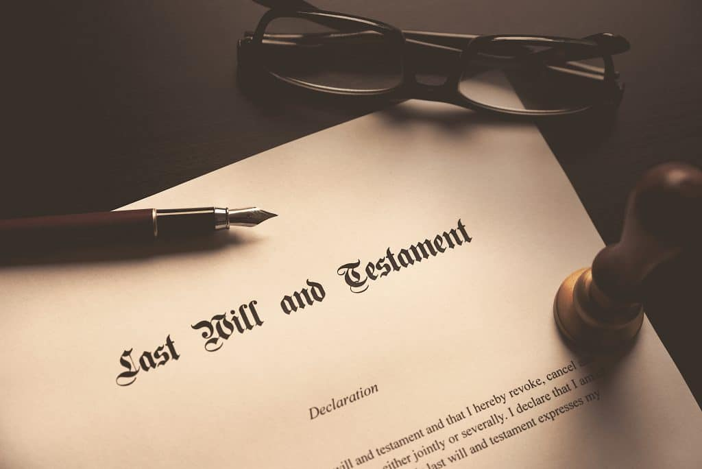 Will Legacy Planning Last Will and Testament concept