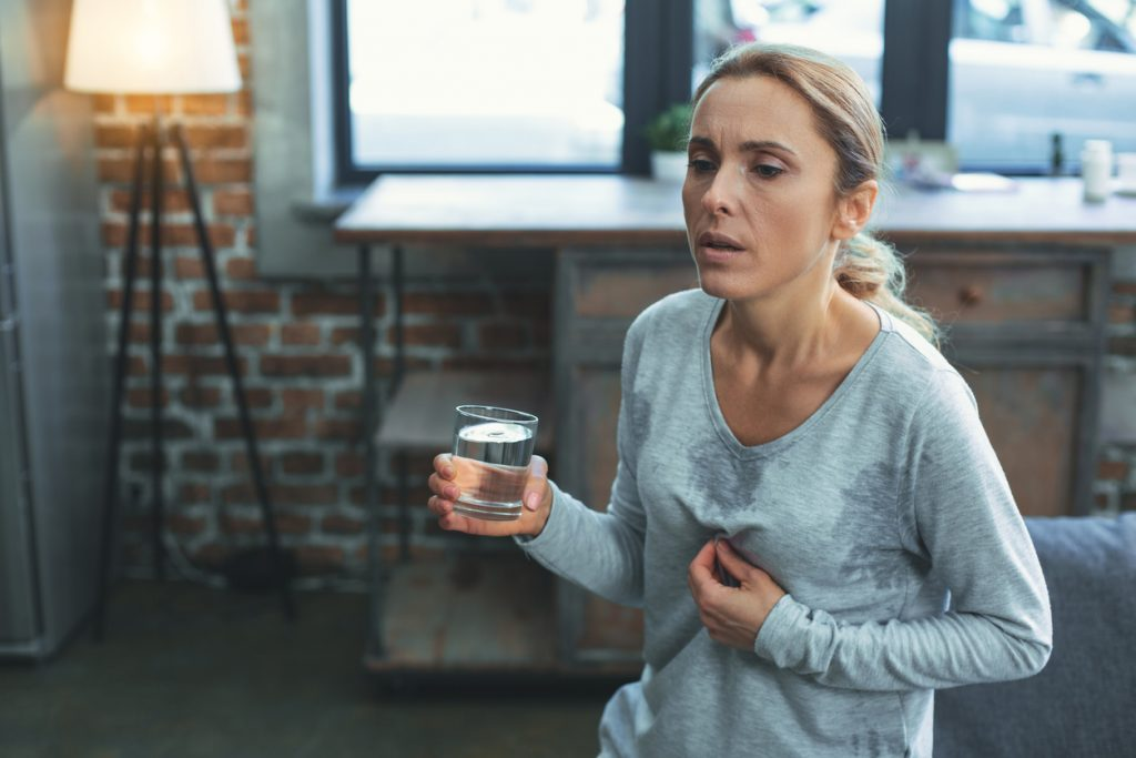 Hot flashes and options for relief