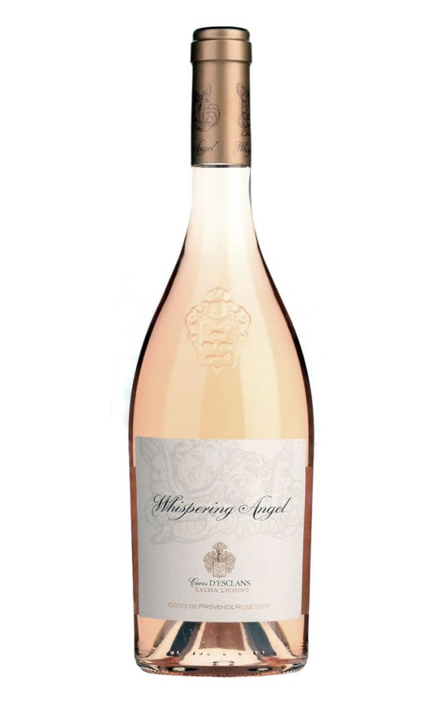 _2017_chateaudesclans_whisperingangelrose French Rosé Wine Brand