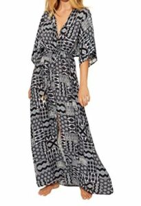Bleu Rod Beattie Island Time Long Rayon Dress Cover-Up