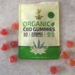 Organic CBD edibles in gummy form