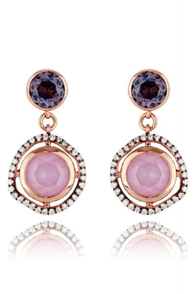 The diamonds in these Prime Pick Lark and Berry earrings are lab cultured and beyond ethically source diamonds l