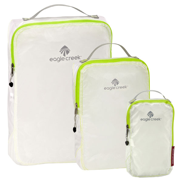 Eagle Creek Translucent Specter Pack-It Cubes best travel accessories for women