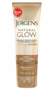 Jergens Natural Glow Sunless Tanning Lotion