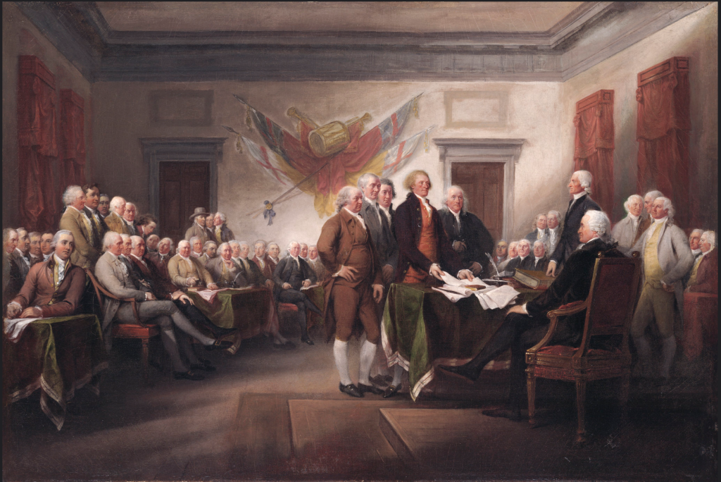 John Trumbull Declaration of Independence,