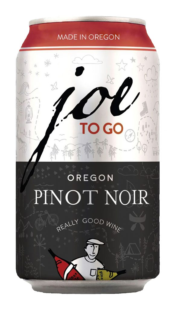 Another can of wine for any outdoor sipping - pinot noir