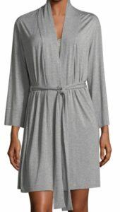 Natori Feathers Essential Short Jersey Robe