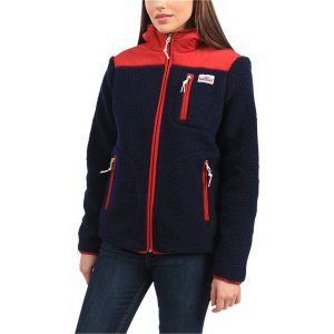 Penfield Navy and Red jacket for 4th of July sales