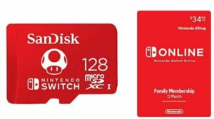 SanDisk 128GB MicroSDXC UHS-I Memory Card