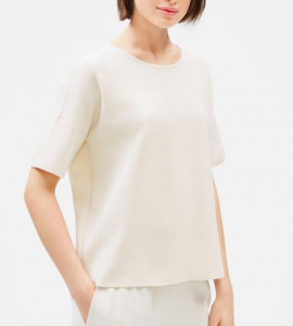 Silk Box Top by Eileen Fisher on sale
