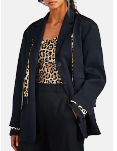 3 in 1 leopard jacket at Barney's Sale
