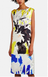 Dries Van Noten floral dress on Barney's Sale