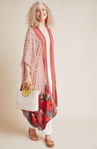 Anthropologie Aviriska Kimono Jacket