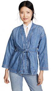 Madewell Denim Kimono Jacket with Belt