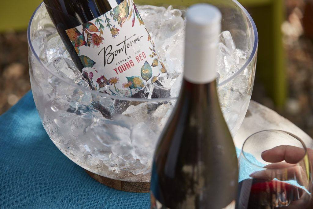 This young red by Bonterra is a lovely pool wine