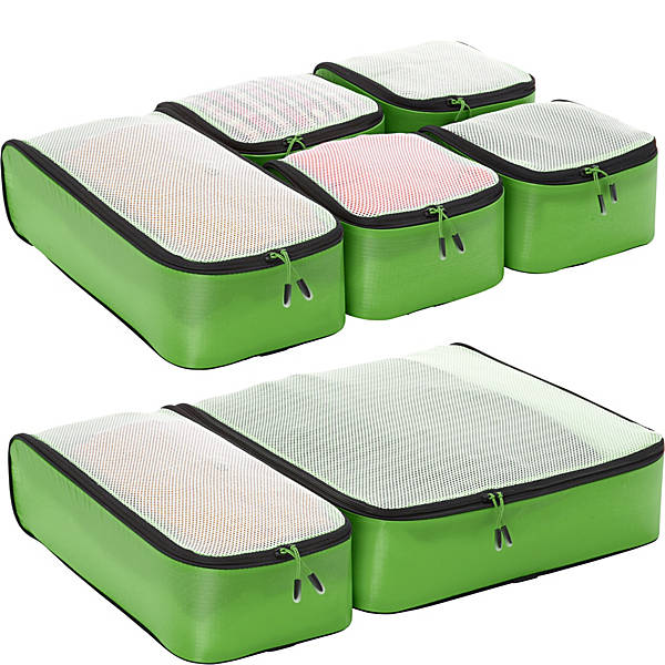 eBags Hyper-Lite Packing Cubes 7pc Set
