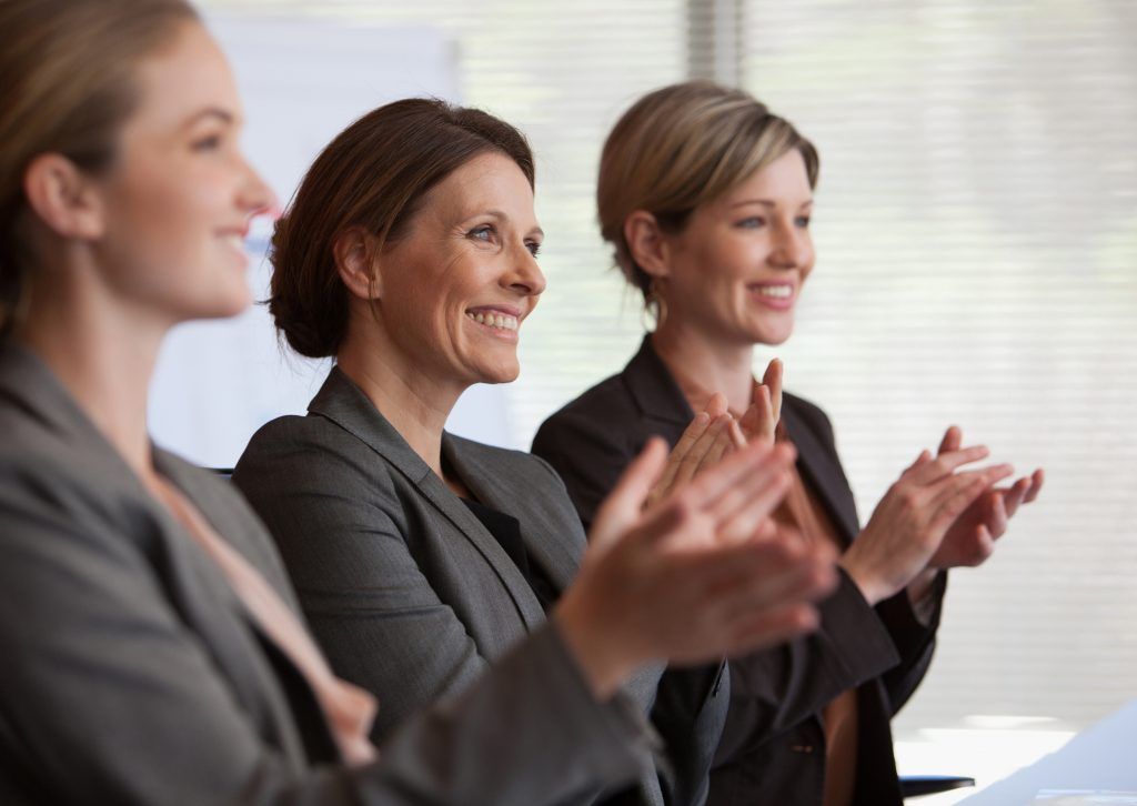 women supporting women accomplishments and business guidance