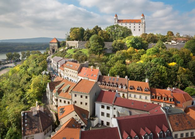 budget travel through central europe