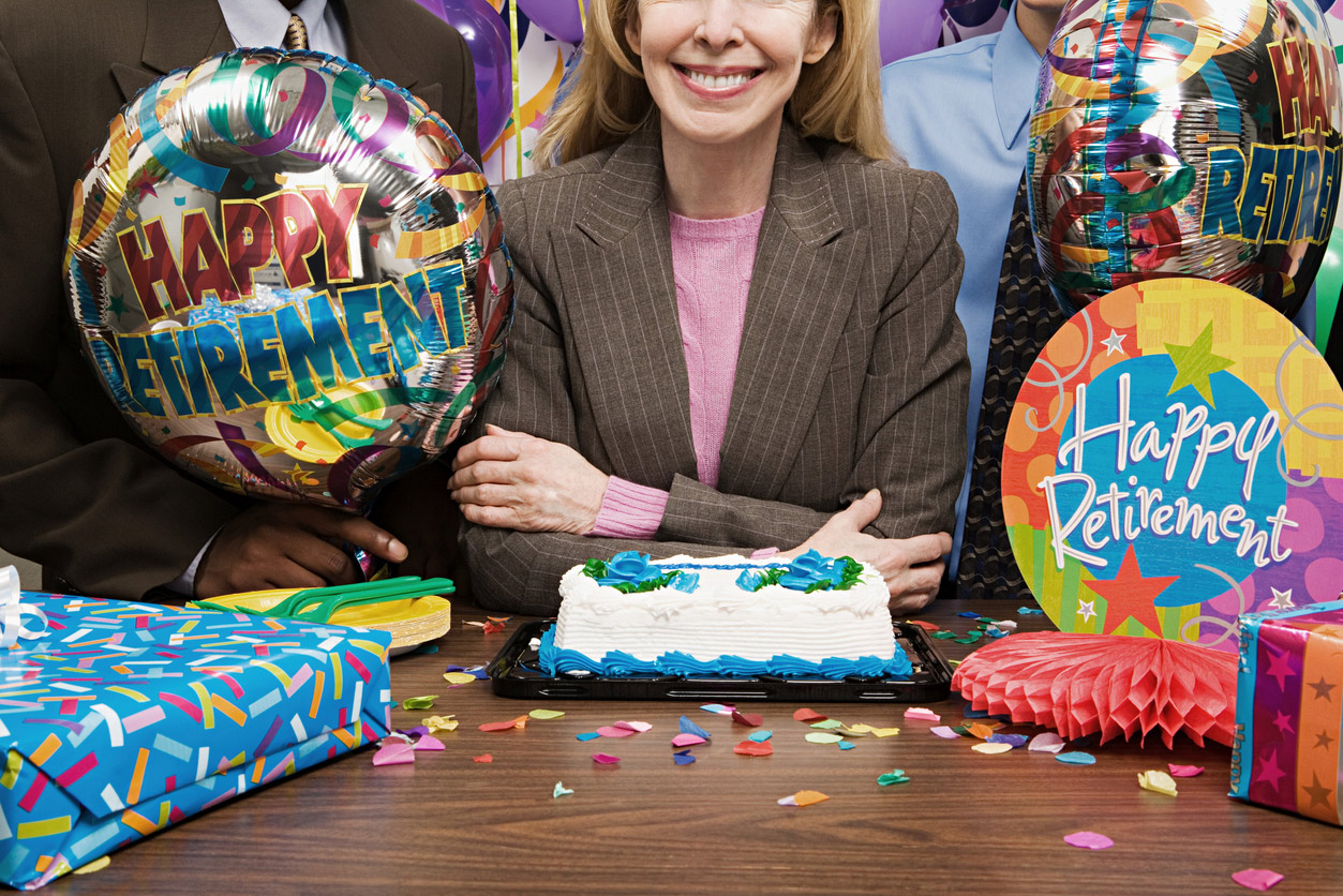 celebrating will help you successfully transition through the stages of retirement