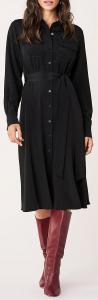 DVF Antonette Silk Crepe de Chine Midi Dress