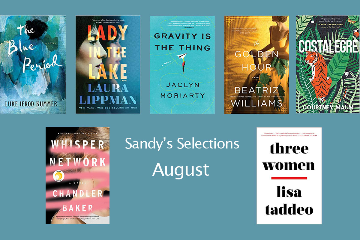 6 Fictions Books and 1 Non-Fiction for August Reads