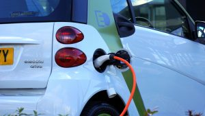 Electric cars charge at different speeds.