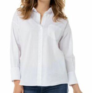 Liverpool Oversize Classic Button-Up Shirt