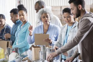 leaving the workforce sparks conversations about what you do with your time.