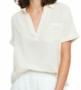Rails Savannah Short-Sleeve Collared Shirt