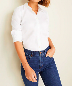 What Ann Taylor calls the Perfect classic white Shirt