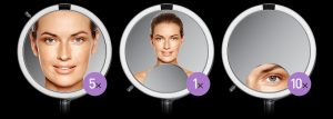 SSimple Human Sensor Mirror is one of the chosen skin care tools for women over 50