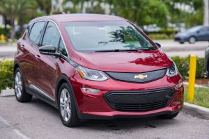 The Chevy Bolt is a popular electric car.