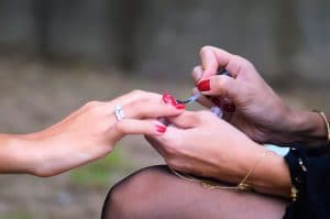 Having their nails painted may cause the tingling ASMR response for some people.
