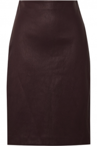 Have you considered wearing leather in skirt form?