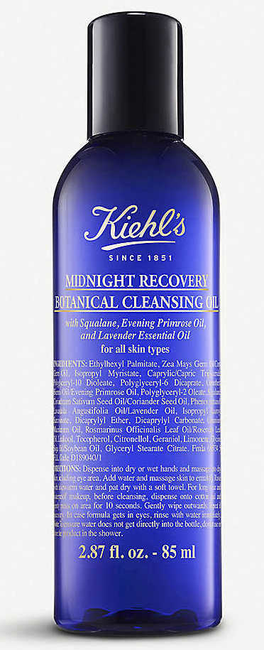 korean beauty tip - cleansing oil first - Kiehls
