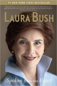 "Former First Lady Laura Bush also gets the ""Sunday sads"""