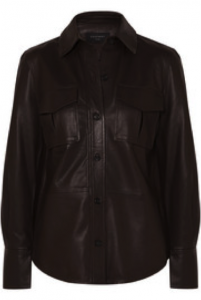 Need to know how to wear leather? Try a stylish leather shirt.