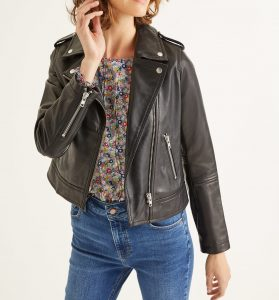 If learning how to wear leather intimidates you, start with a classic jacket.