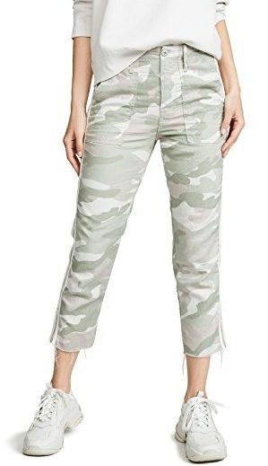 Your personal style might include these camo print crops.