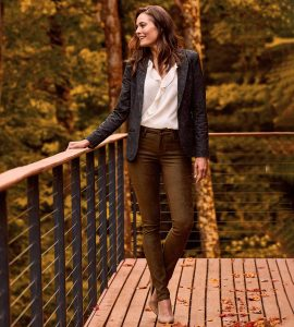 NYDJ has the perfect kind of jeans for business casual women over 50