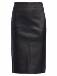 Leather pencil skirts offer a unique way to wear this material.