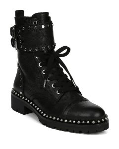 You may find your personal style in these combat boots.