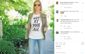 """Instagrammer Vicki Bouchard doesn't let a number like """"60"""" slow her down. Sixty is truly the new 40."""