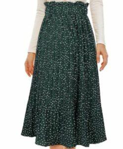 Zando Casual Pleated Skirts