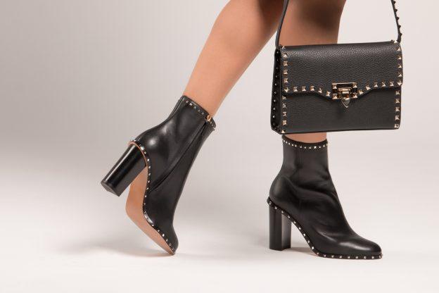 black booties for women over 50