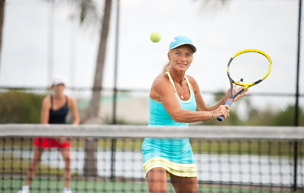 Staying active over 50 may include playing your favorite sport.