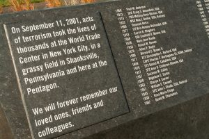 The Pentagon also has a memorial for 9/11 victims. PTSD is a common post-9/11 diagnosis for many Americans.